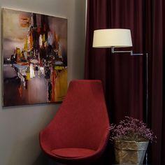 Abstract art by Tadeusz Machowski - his art inspires in a very unique way, don't you think? #kunst #art #inspiring #interiordesign #abstractart #velvenoir #galerie #platform (c) @fotowerkemertenriesner