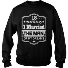 19 Years Ago I Married The Man of My Dreams T Shirt Gift