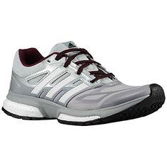 adidas Performance Womens Response Boost Techfit Running Shoe WhiteMetallic  SilverLight Onix 85 M US    65503d3e1