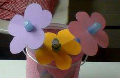 Bloemen van pennen!!