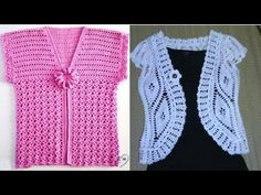BOLEROS TEJIDOS CROCHET PARA DAMAS Nº01 - YouTube