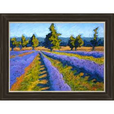 I pinned this Violet Fields Wall Art from the All I Want for Christmas event at Joss and Main!