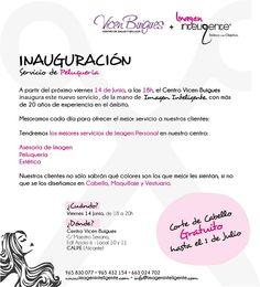 Inauguración de nuestro servicio de peluquería y asesoría de imagen
