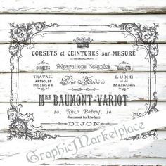 Corset French Lingerie Logo Digital download by GraphicMarketplace