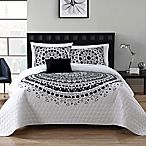 VCNY Tessa 3-Piece Twin/Twin XL Quilt Set in Black/White$59.99