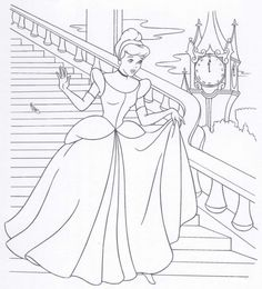 Cinderella coloring pages. Disney coloring pages. Coloring pages for kids. Thousands of free printable coloring pages for kids! Cinderella Coloring Pages, Barbie Coloring Pages, Disney Princess Coloring Pages, Disney Princess Colors, Disney Colors, Coloring Pages For Girls, Cool Coloring Pages, Cartoon Coloring Pages, Coloring Pages To Print
