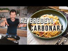 A világ legjobb kajái sorozatban nem mehetünk el szó nélkül az egyik legnagyobb olasz klasszikus mellett: jön az eredeti carbonara receptje, amit még az olasz nagymamámtól tanultam. Macaroni And Cheese, Food And Drink, Ethnic Recipes, Kitchen, Youtube, Beverages, Street, Mac And Cheese, Cooking