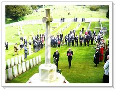 St George's Day   ~ Ceremony at St James' Cemetery, Dover ~