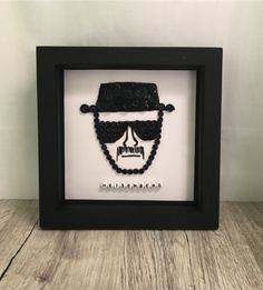 Framed Picture – Heisenberg Button Picture