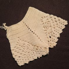 Vintage Crocheted Doll Bloomers from virtu-doll on Ruby Lane
