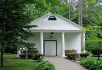 The Healing Temple in Lily Dale, NY.  A place of wonderful peacefulness.