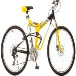TITAN Glacier Pro Unisex Alloy Dual Suspension Mountain Bike