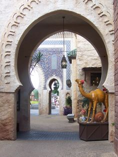 Morocco in World Showcase at Epcot in Orlando, Florida: Visited