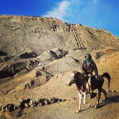 Mount Bromo, Indonesia  SAVVI TIP:  The Mount Bromo experience could cost you $100 or $10.  If I were you, I'd chose the latter. Cut out the extravagant forms of transport around the Mt. Bromo crater (jeep, horseback, motorcycle, etc...) and just walk!! This way, you can catch everything, from sunrise to the steaming crater-mouth. The tourist agencies and locals will try to make you attend a guided tour. Don't give in.