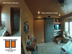 ARIZONA BARN DOORS: Barn Doors will help you sleep a bit longer.