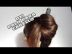 DIY PALO DECORADO PARA CABELLO