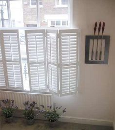 indoor window coverings | saw these window treatments on walmart.com and love them. Simple and ...