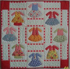Colleen's Quilting Journey: Dolly Dress Up for my neice Tara M. Baby Girl Quilts, Girls Quilts, Quilting Blogs, Quilting Designs, Dolly Dress Up, Doll Quilt, Mini Quilts, Applique Quilts, Yarn Crafts