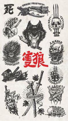 Old School Tattoo Designs, Japanese Tattoo Designs, Japanese Tattoo Art, Tattoo Designs Men, Tattoo Design Drawings, Tattoo Sketches, Japan Tattoo Design, Black Ink Tattoos, Body Art Tattoos