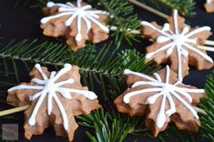Turta dulce - CAIETUL CU RETETE Royal Icing, Biscotti, Gingerbread Cookies, Sweet Tooth, Diy And Crafts, Bacon, Food And Drink, Thanksgiving, Christmas Ornaments