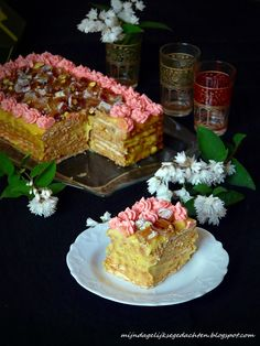 No Bake Turkish Delight Cake / Торт с Лукумом (без выпечки)  #Russian_recipes #Russian_food #Russian_desserts