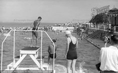 Brixham, Shoalstone Pool c.1950. From The Francis Frith Collection, a privately-owned archive of over 130,000 photographs of Britain from 1860-1970 that you can browse online for free anytime. #francisfrith #photography #nostalgia