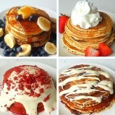 Pancakes 4 Ways