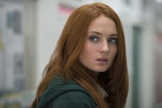 Love this color. Sophie Turner, still for her upcoming movie, Another Me