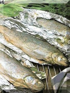 Praktická Kuchařka: Plnění pstruzi v alobalu
