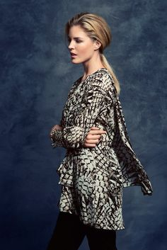 KRISS Fall Collection 2014. Tunic in dubble layer.