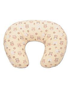 Dreamgenii Donut Pillow Neutral Owls