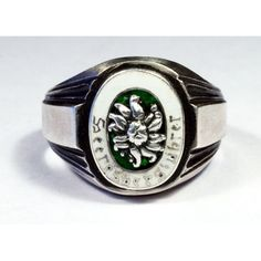 - WWII GERMAN WWII ALPEN DIVISION ring