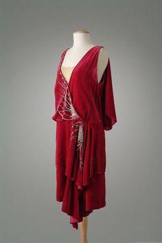 Evening dress, ca.1927