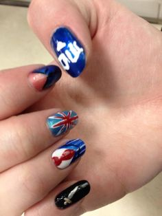 My amazing BBC nails with Dr. Who, Merlin, and Sherlock!