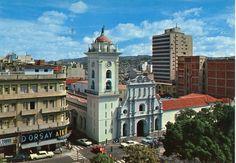 Caracas 1960. Esquina de la Torre centro de Caracas.