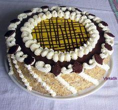 Klasický ořechový dort Culinary Arts, Tiramisu, Ethnic Recipes, Food, Birthday Cakes, Anniversary Cakes, Meal, Essen, Birthday Cake
