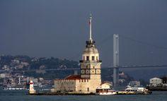 İstanbul Kız kulesi ne ait 2006 ve 2012'den görünümler...