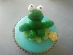 Kikker cupcake