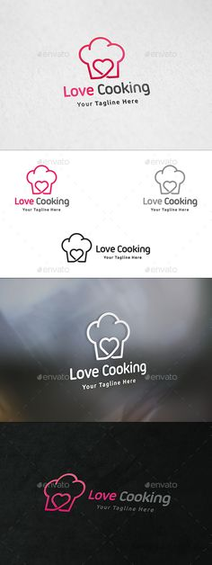 Love cooking? Love sharing your recipes? Here is a logo that just might help you get started with your food blogging business  #food #blog #logo