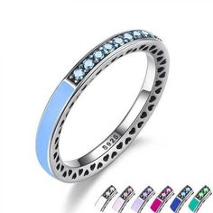 Colourful rings