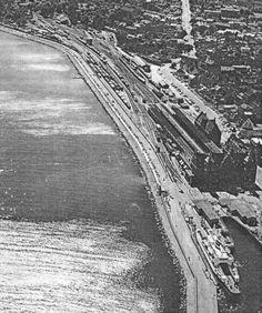 Helsingør station i 1958