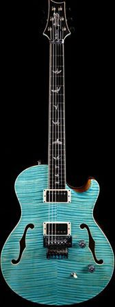 Iconic Guitars - Journey Edition WHOA! Check this PRS Neal Schon LTD Private Stock in Faded Makena Blue- a gorgeos semi-hollowbody Electric Guitar with Curly Maple Body and Top, Curly Maple Neck, Ebony Fingerboard, Two Humbuckers, and Floyd Rose Tremolo What do YOU think? HOT or NOT?