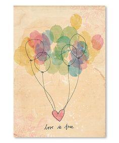 sweet william: new illustration - 'love is free' Art Amour, Love Is Free, Love Art, Watercolor Art, Simple Watercolor, Art Projects, Illustration Art, Balloon Illustration, Art Prints