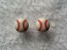 Baseball Plugs Gauges  by PorcupineSpines, $18.00