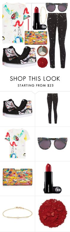 """""""SPLATTER PRINTS🎨"""" by audreyroset ❤ liked on Polyvore featuring Vans, Current/Elliott, Marc Jacobs, STELLA McCARTNEY, Milly, Tate, Illamasqua and Mineral Fusion"""