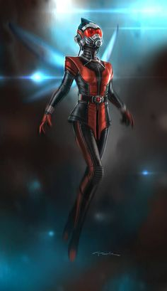 Wasp concept art by Andy Park *