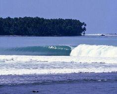 Surreal, waves.