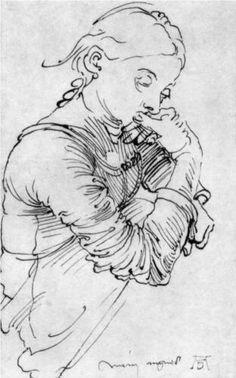 My Agnes, 1494, Albrecht Dürer