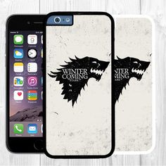 """Funny Game Of Thrones iPhone 6 Case Wolf Stark iPhone 6 Small Case 4.7"""" #GameOfThrones #iPhone6 #iphone6case #iphone6cover #SmalliPhone6Case #Stark #Wolf Gift for him"""