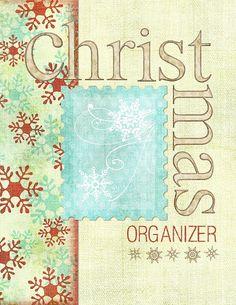 Cute Christmas Printable for Organization